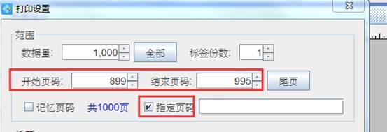 标签打印软件如何打印指定页码(3)