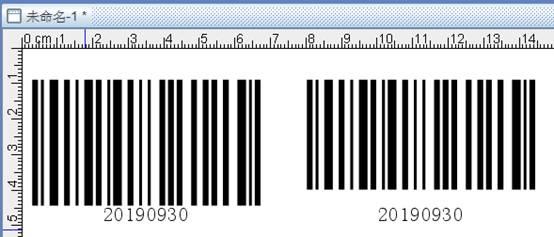 条码设计软件如何调整条形码与条码文字之间的距离(3)